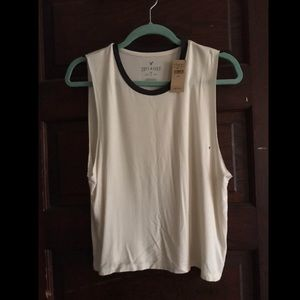 American Eagle Soft and Sexy white muscle tank top
